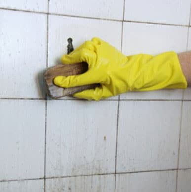 How to remove mold from grout shower and kitchen for How to clean bathroom grout mold